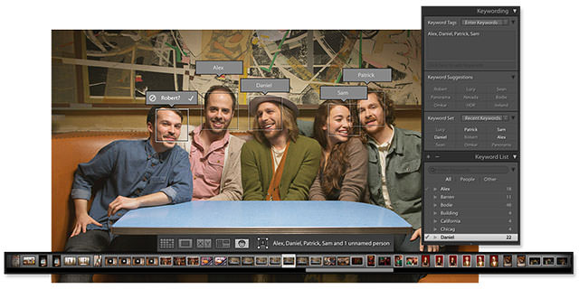 facialrecognition Adobe Lightroom 6 / Lightroom CC