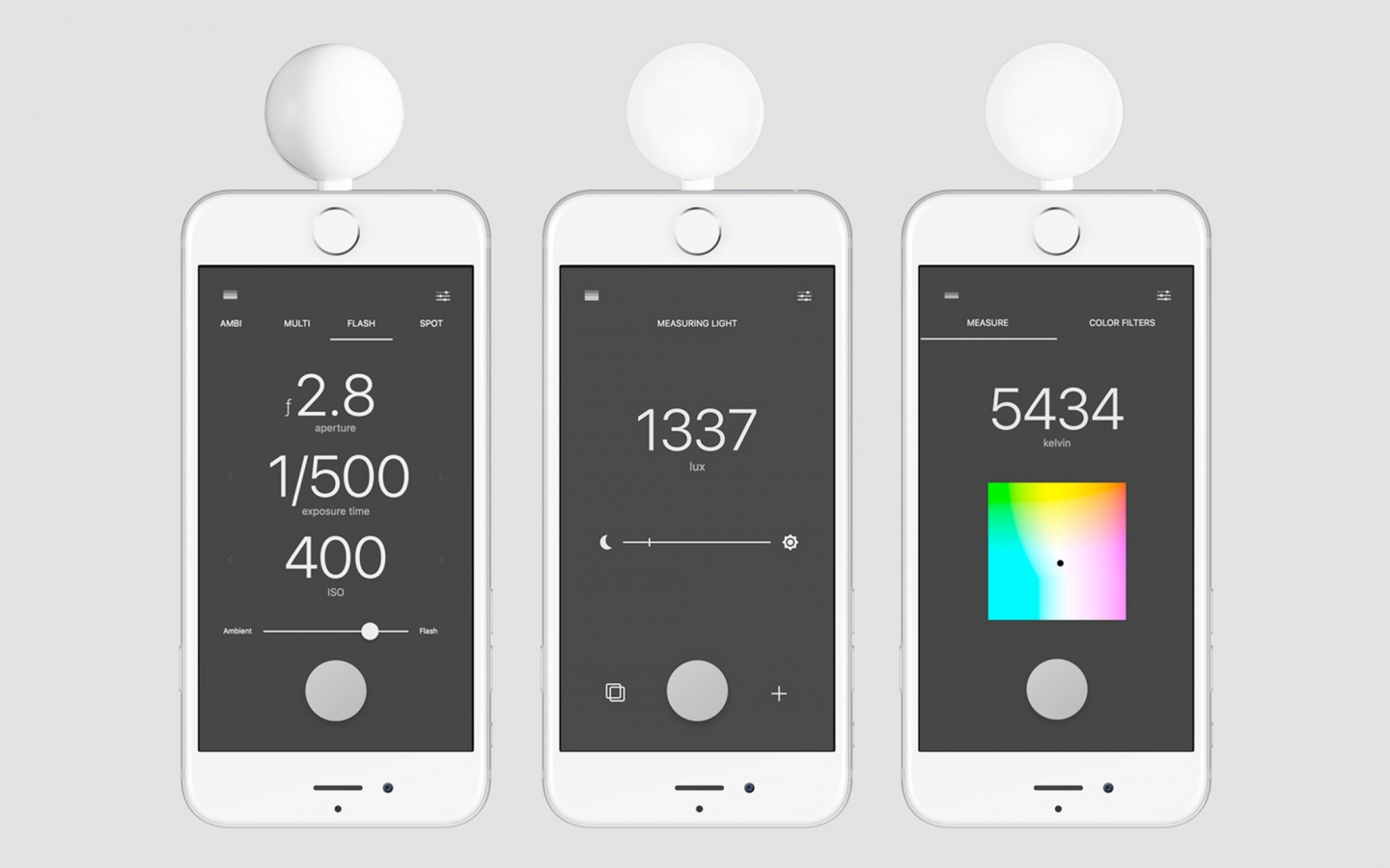 lumu power light11 1440x900 Lumu Power lets your iPhone double as a powerful light meter